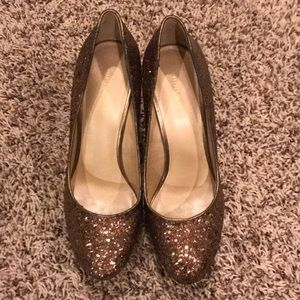 Nine West Sequin Brown shoes